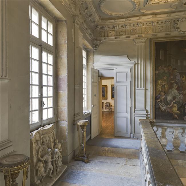 L'escalier - Musée Magnin