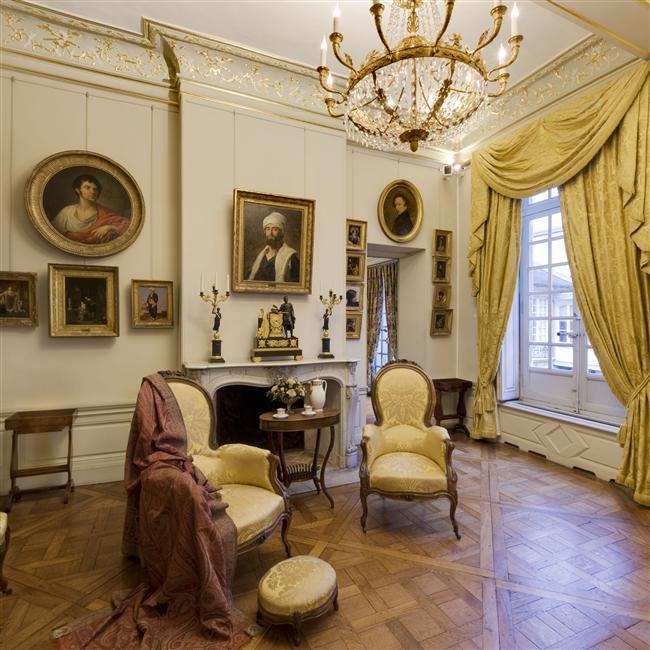 Le salon doré - Musée Magnin