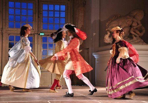 Concert ballet au musée Magnin