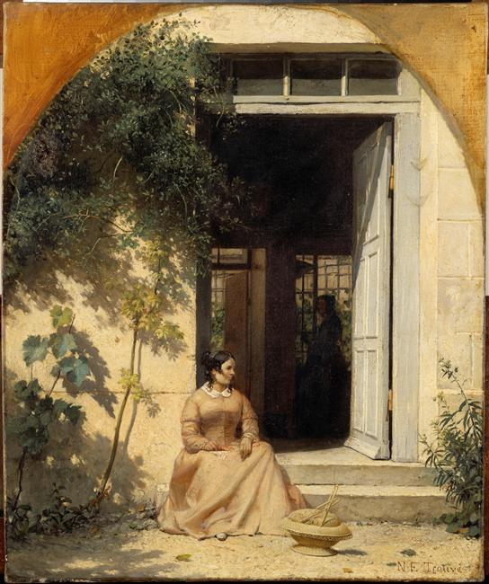 Peintures françaises - musée Magnin