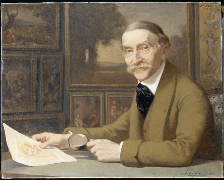 Portrait Maurice Magnin - musée Magnin