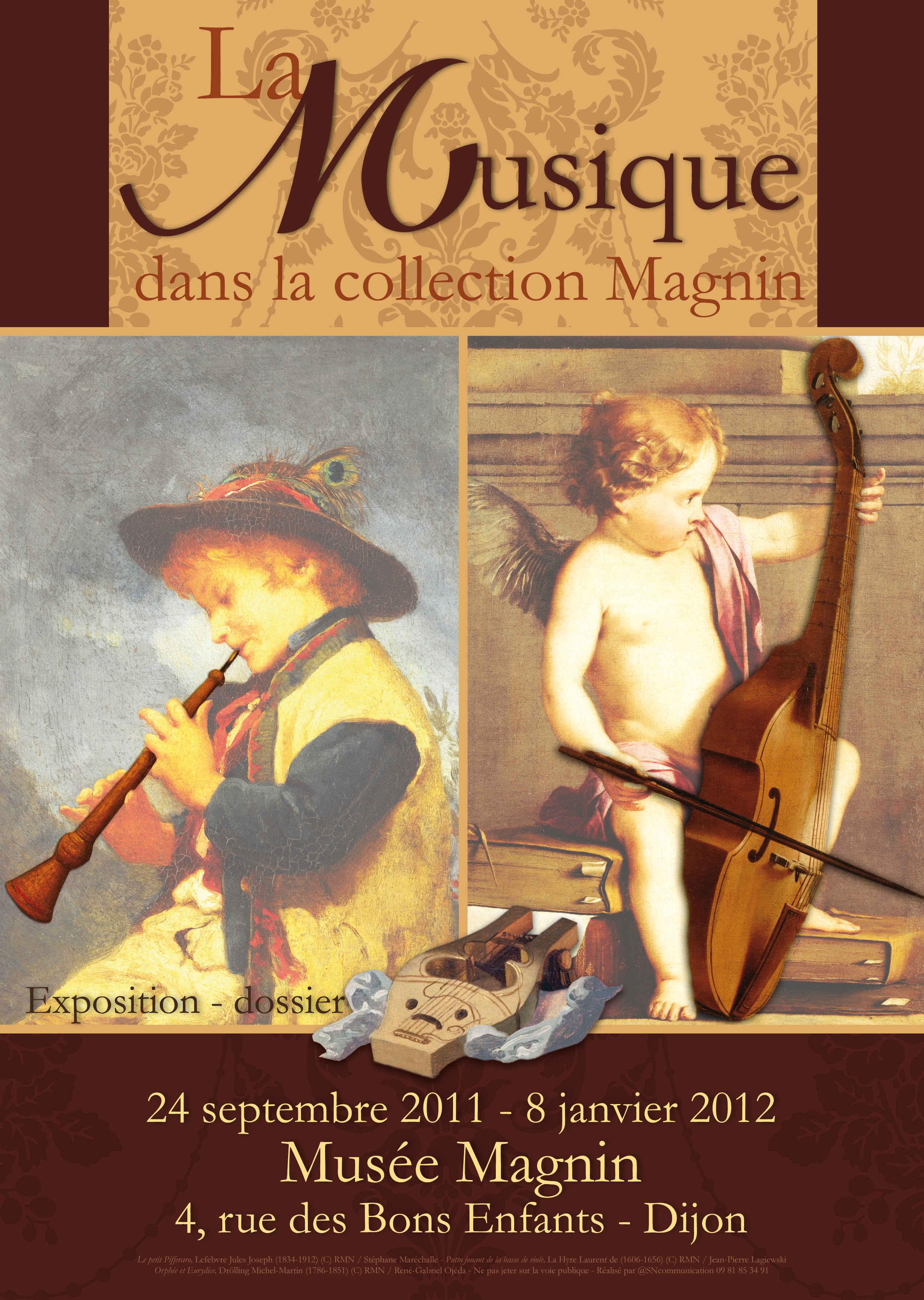 Exposition Musique - musée Magnin