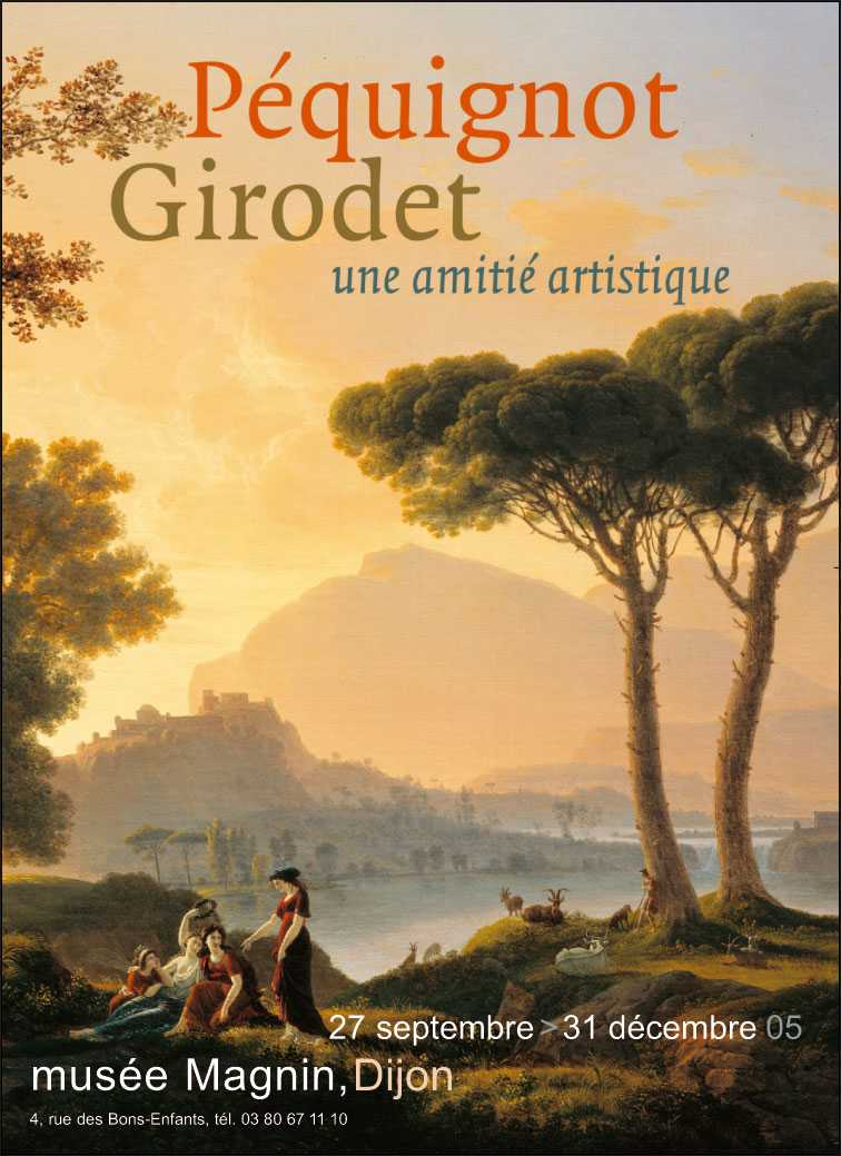 Péquignot et Girodet - musée Magnin