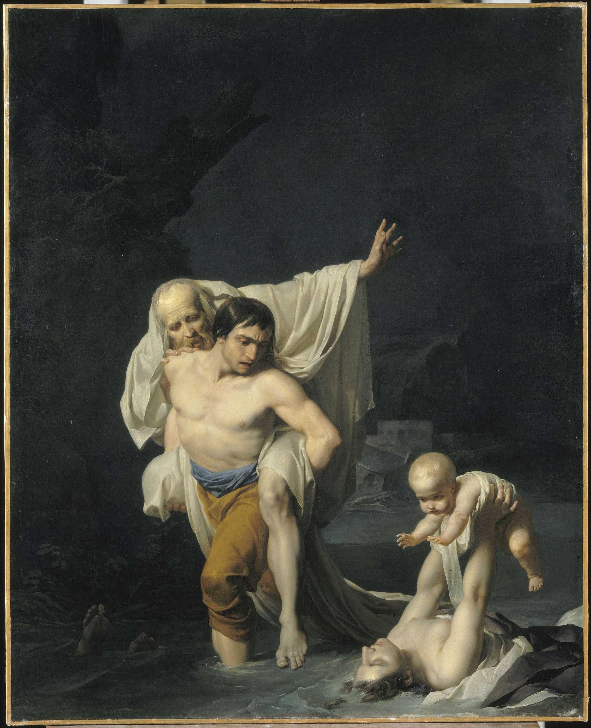 Le déluge - musée du Louvre