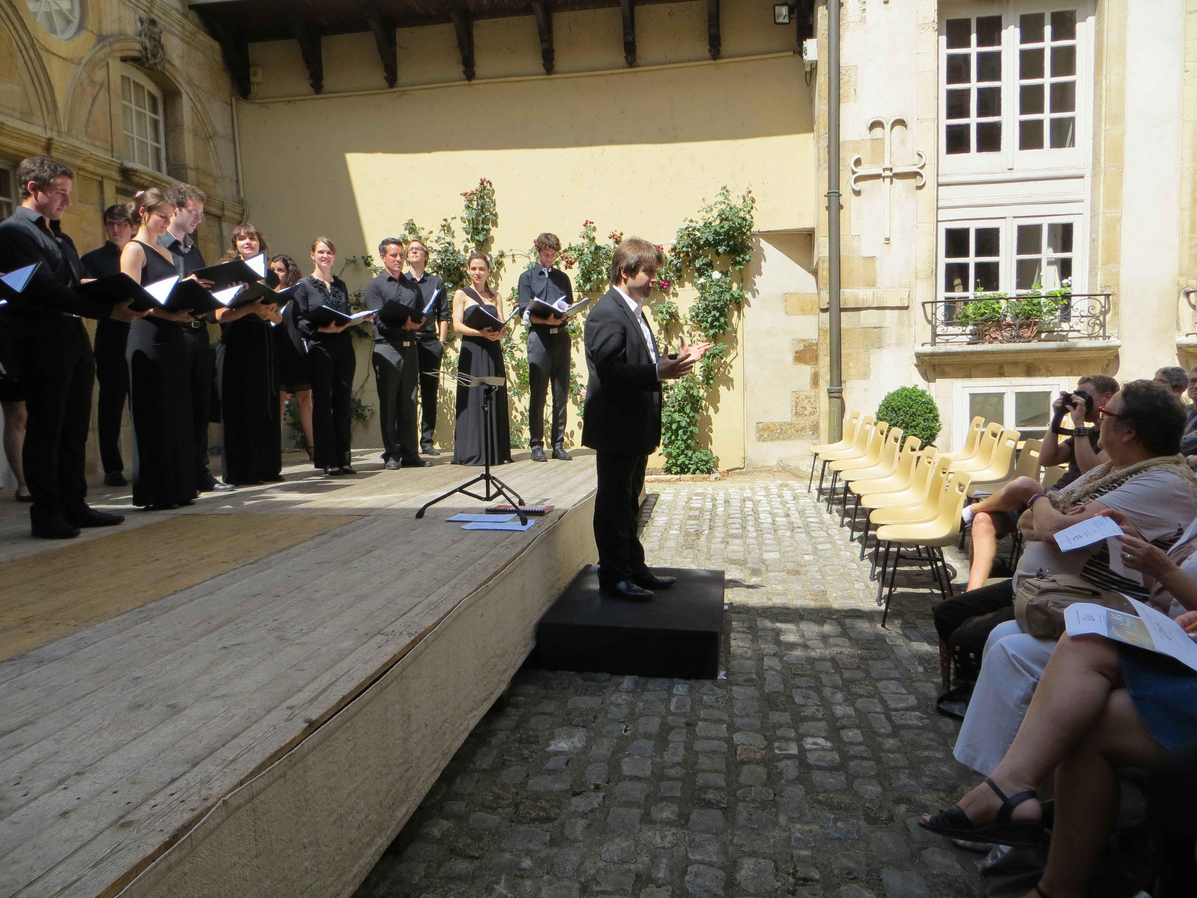 Les candides - ensemble vocal européen - musée magnin
