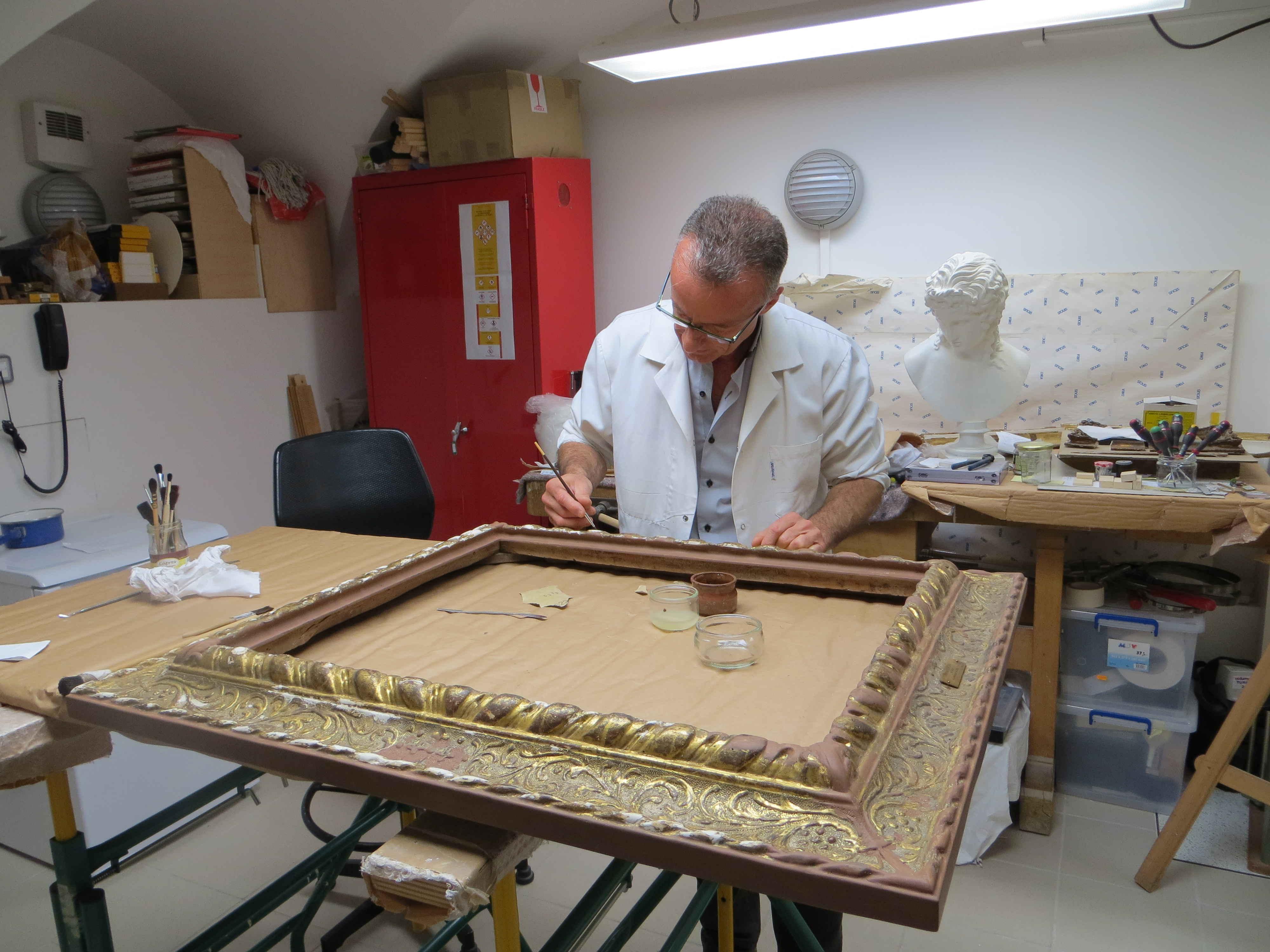 Atelier - musée Magnin